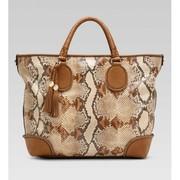 Gucci Marrakech Moyen Fourre-tout Camel Brun-vente-max.com