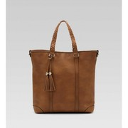 Gucci Marrakech Medium Shoulder Bag Camel Brown-vente-max.com