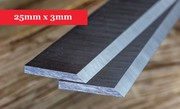 Planer Knives 25mm x 3mm - 1 Pair