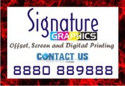 Signature Graphics offers personalised printed services